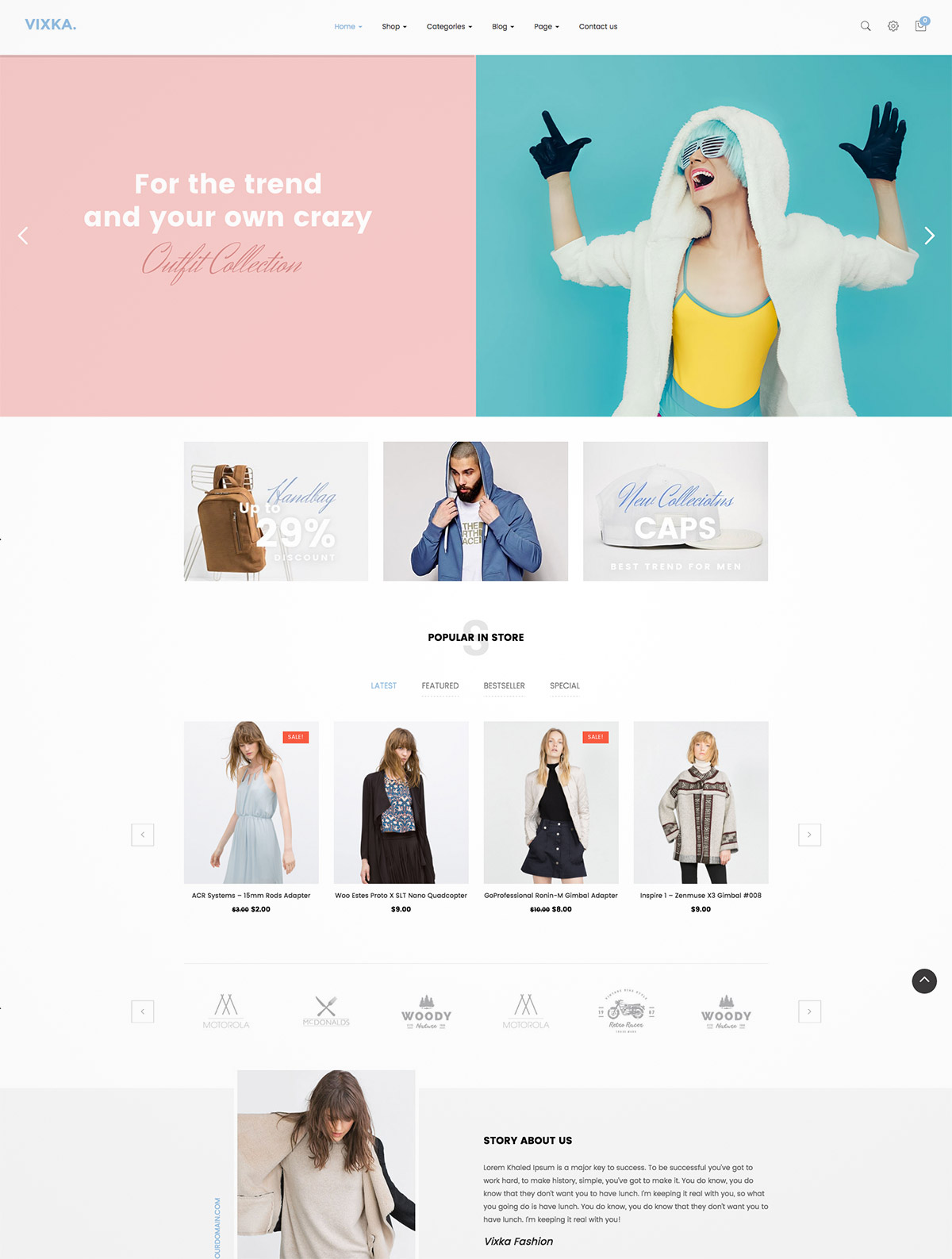 fashion store online