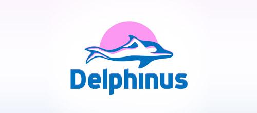 delphinus dolphin logo design