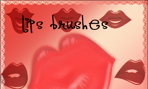 lips photoshop brush free