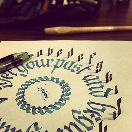 3D lettering tolga girgin