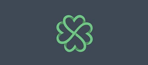clover hearts logo