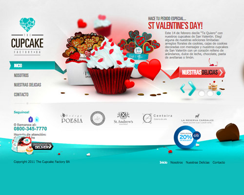 cupcake factory website