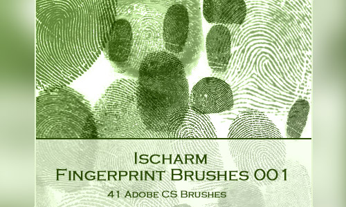 cool photoshop fingerprint brushes