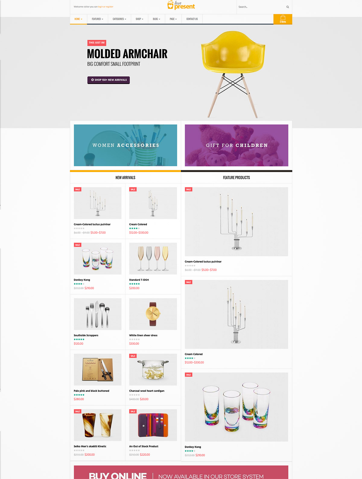 giftshop wordpress thme