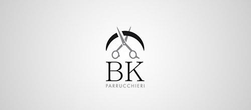 hairdresser scissor logo