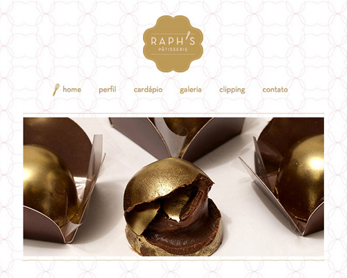 raph pastry food website