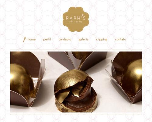 raph pastry food website