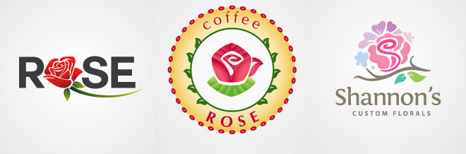 40 Lovely Rose Logo Designs To Inspire Your Imagination