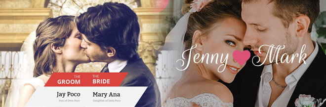 24 Elegant Premium Wedding WordPress Themes