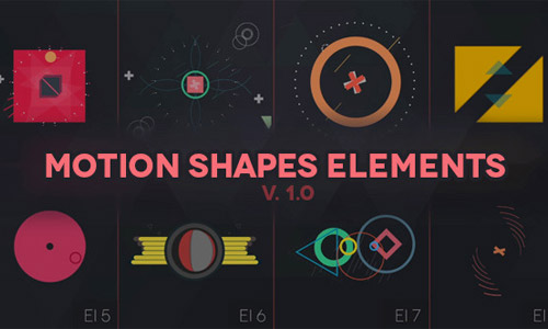 animated shape elements