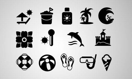 summertime free icons