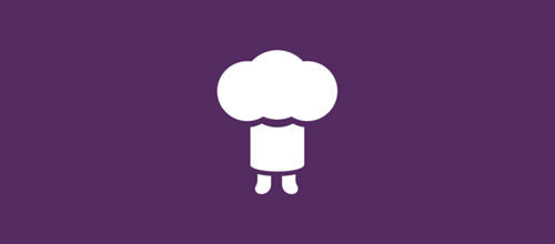 tiny chef hat logo