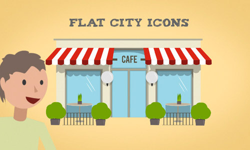 animated city icons