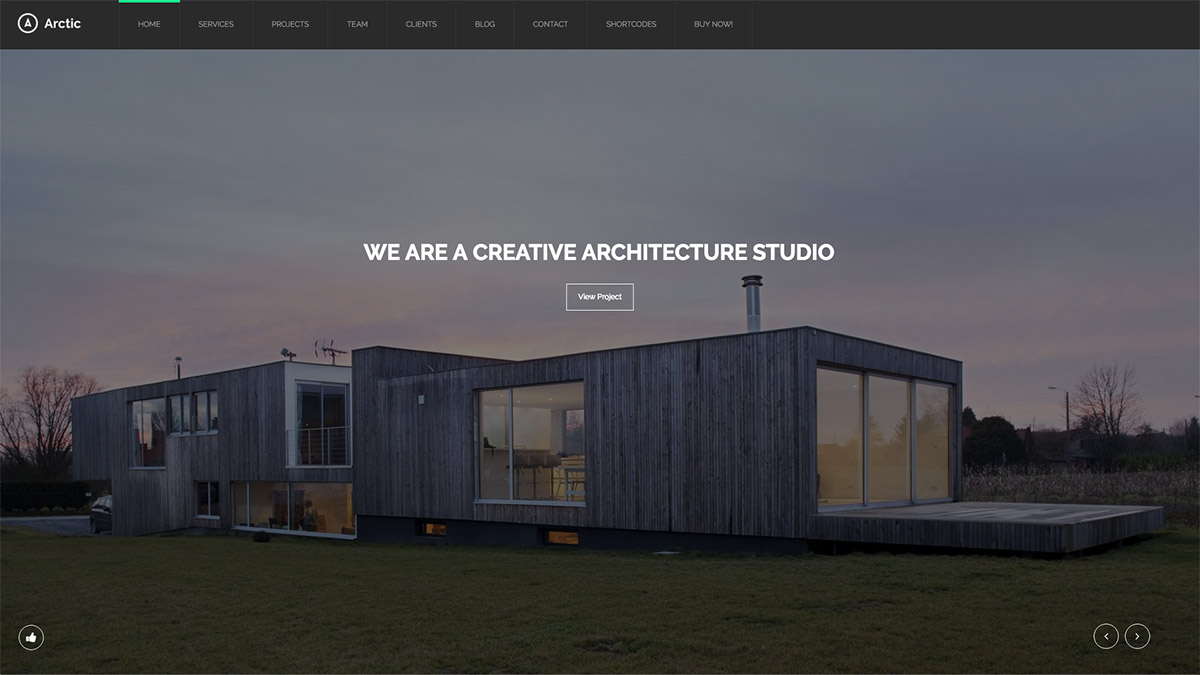 architectural website themes