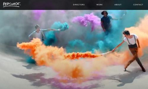 persuade video web design