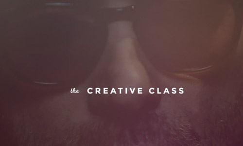 creative class video web design