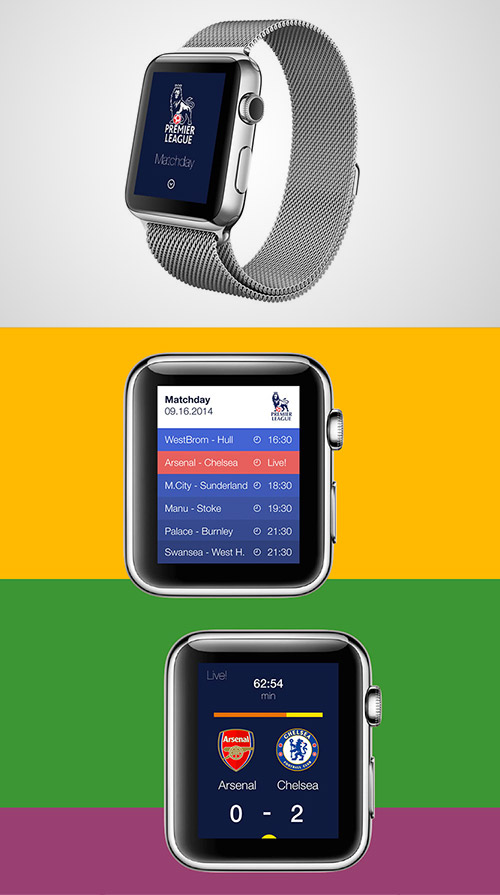 premier league app iwatch