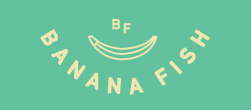 banana fish logo