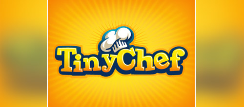 cool chef hat logo