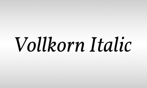 cool free italic font