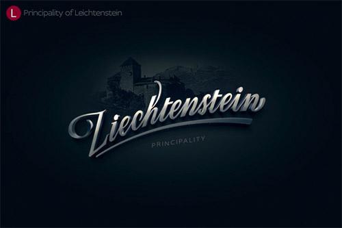 leichtenstein zergut logo design