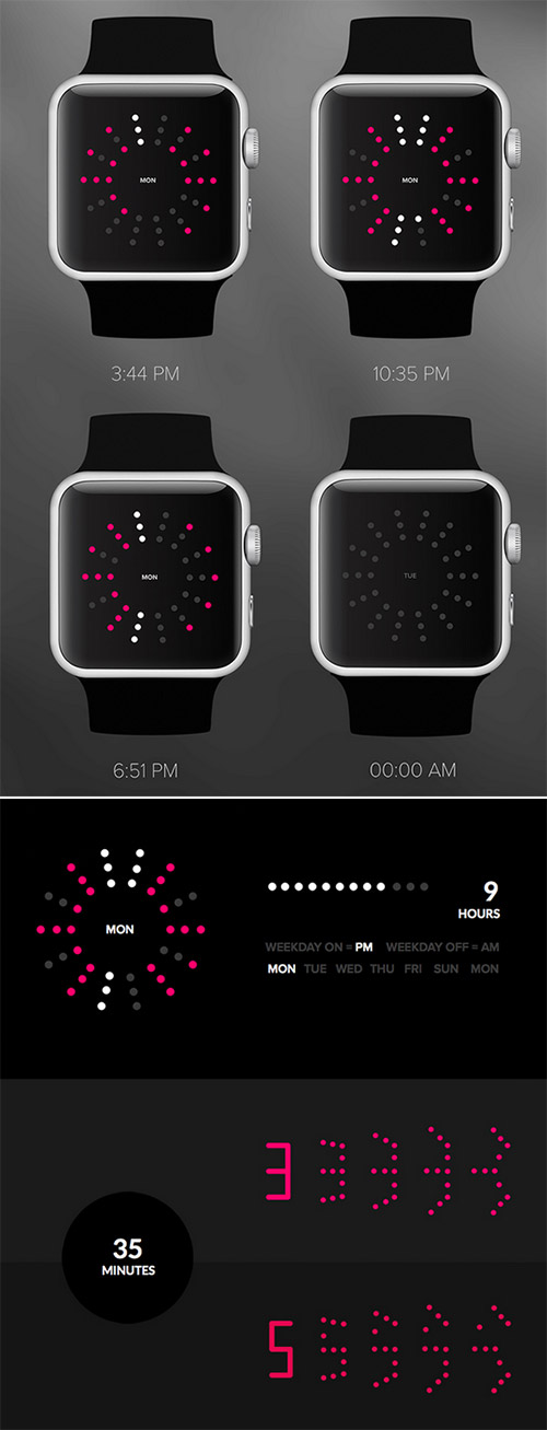 time app apple watch