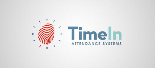 timein logo fingerprint