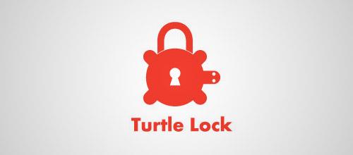 turtle padlock logo