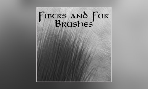 fiber fur brushes
