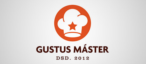 gustus chef hat logo