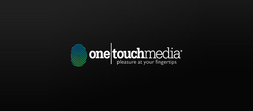 one touch media fingerprint logo