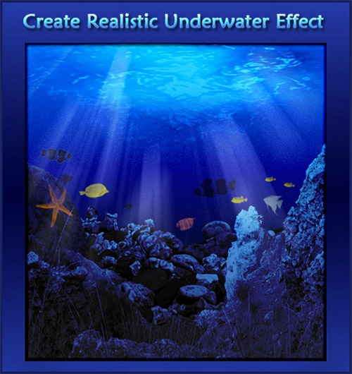 realistic underwater photoshop tutorial
