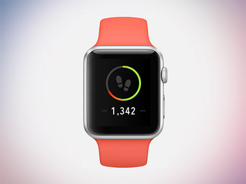 steps counter app iwatch