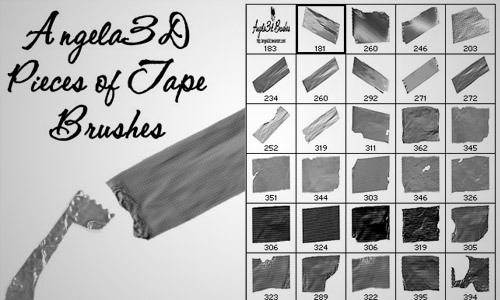 tape brush pack