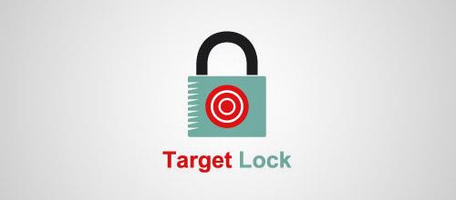 target lock logo