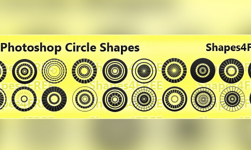 circles photoshop shapes