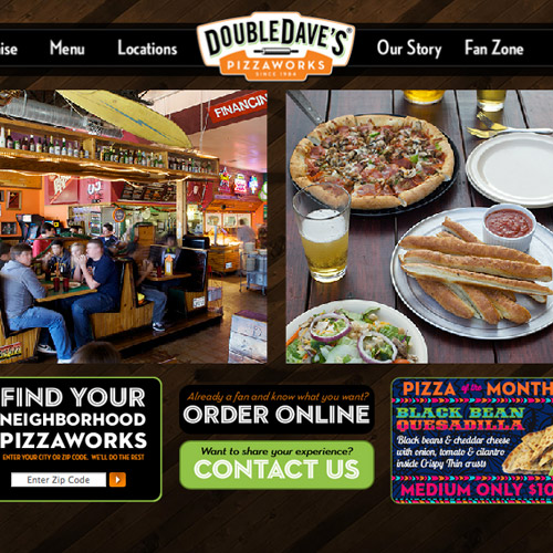 dave pizzaworks website
