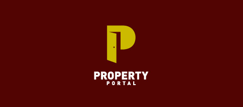 property portal door logo