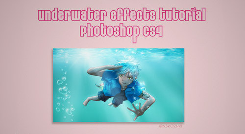 underwater effects PS tutorial
