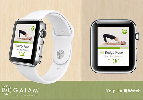 Yoga app iwatch