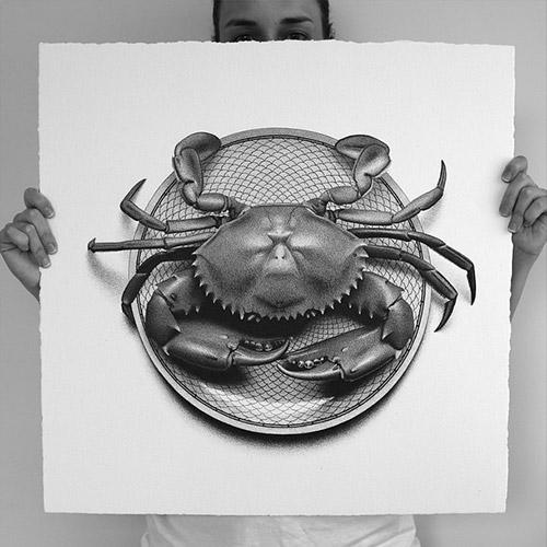 crab Hendry artworks
