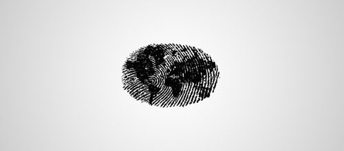 world fingerprint logo