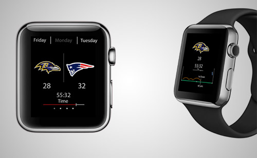 NFL app apple watch