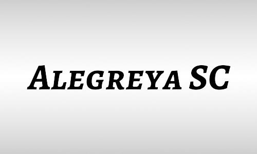 alegreya italic fonts free