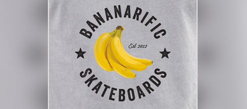 bananarific skateboards logo