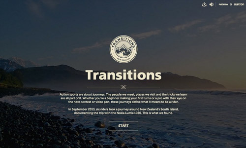 nokia transitions video site