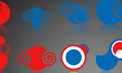 abstract circles photoshop