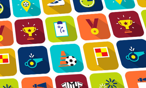 animated soccer icons