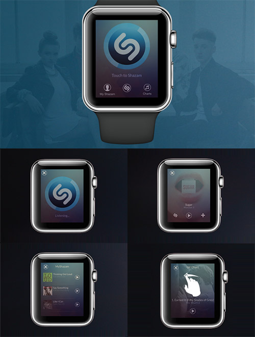 apple watch app design