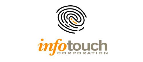 infotouch fingerprint logo